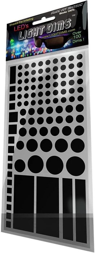 LightDims Electronics Light Covers