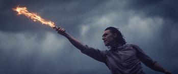loki flaming sword