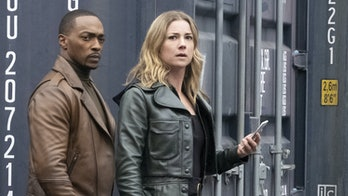 Sharon Carter and Sam Wilson in The Falcon and the Winter Soldier.