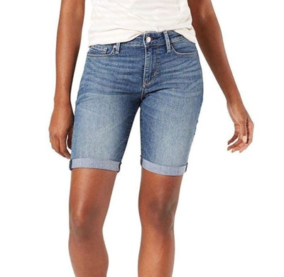 Signature by Levi Strauss & Co. Gold Label Mid-Rise Bermuda Shorts