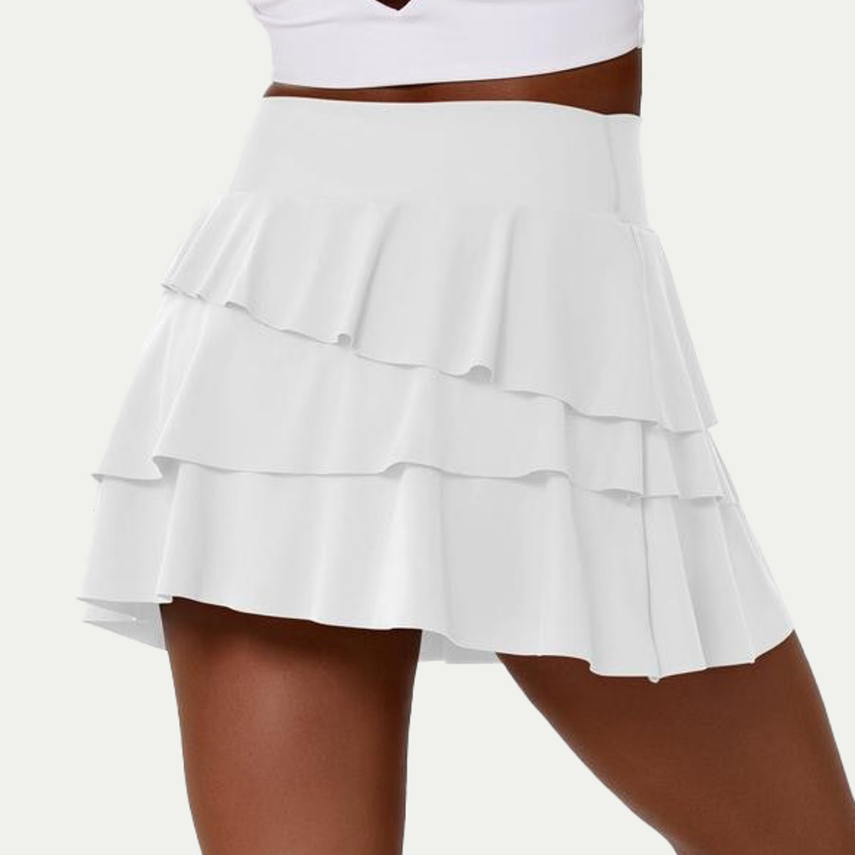 Everyday 2-in-1 Tennis Skirt -- Truffle