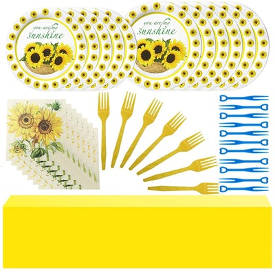 Sunflower Party Supplies