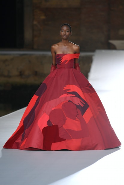 Model in Valentino Couture.