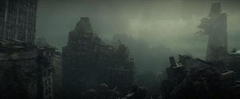 Qeng Tower in Loki Episode 5