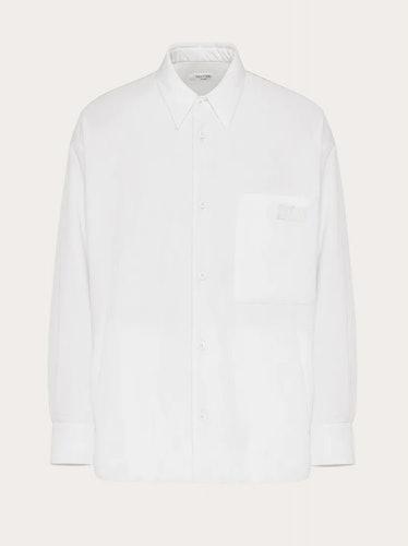 Valentino's Uomo button-up shirt dress.