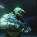 A screenshot from the Halo Master Chief Collection