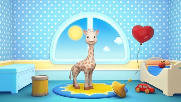 Sophie La Girafe is French.