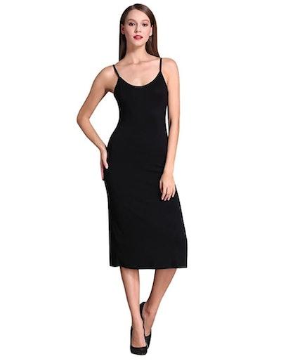 MSBASIC Long Cami Slip Dress