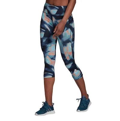adidas x Zoe Saldana Women's High-Waisted Capri Leggings