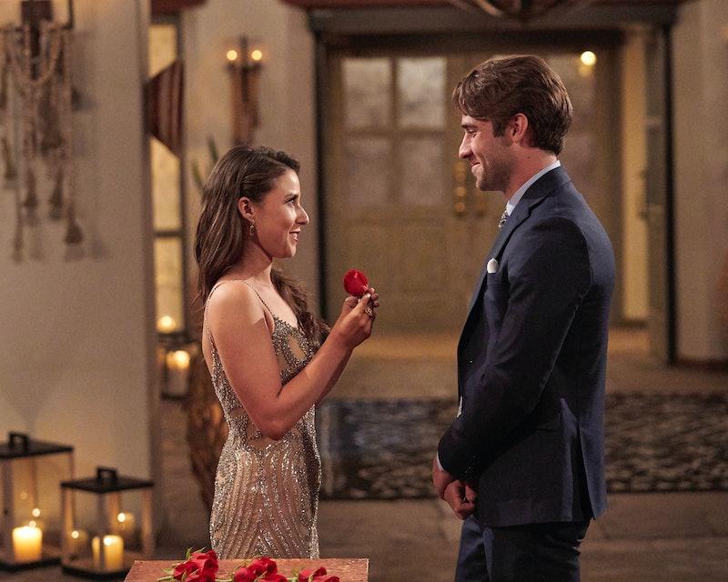 Katie Thurston and Greg Grippo in 'The Bachelorette' via ABC's press site
