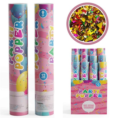 TUR Party Supplies Confetti Cannons Party Poppers
