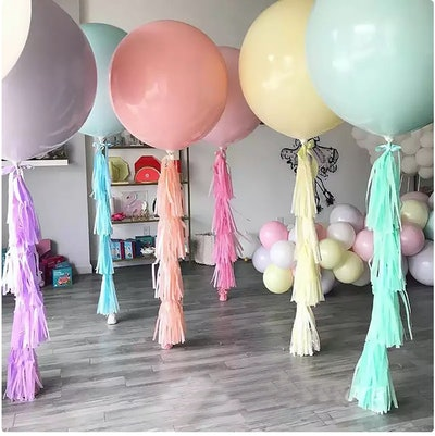 outdoor baby shower balloons