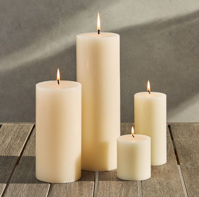 citronella pillar candle