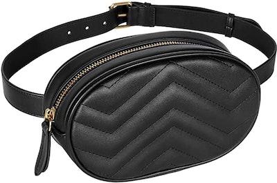 Geestock Leather Belt Bag