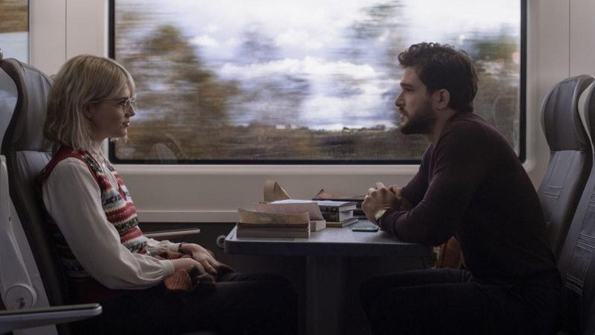 Kit Harington and Lucy Boynton are Strangers on a Train in 'Modern Love' Season 2