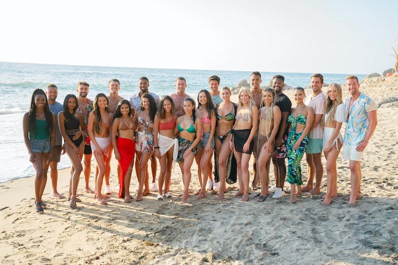 The cast of 'Bachelor In Paradise' Season 7 on the beach.