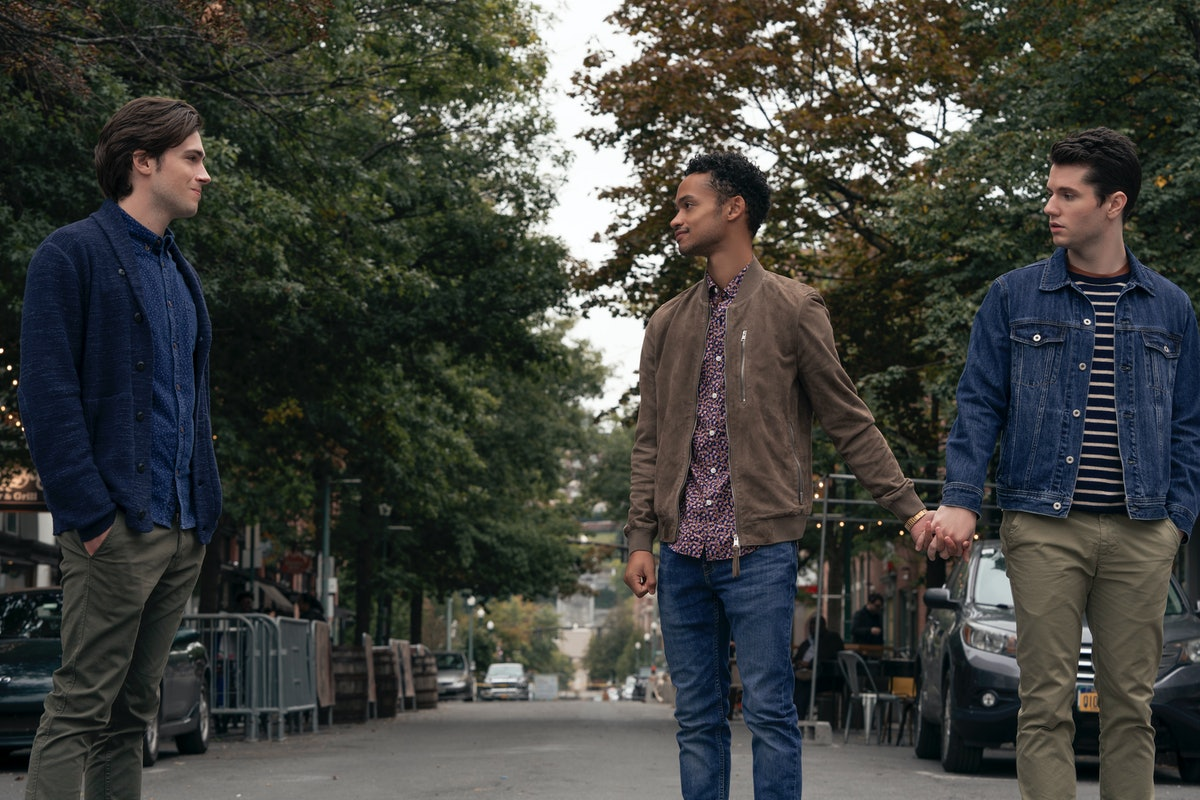 Zane Pais, Marquis Rodriguez, and James Scully in 'Modern Love' Season 2