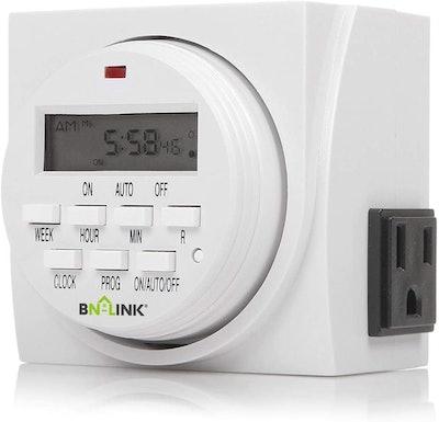 BN-LINK Dual Outlet Timer