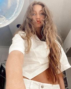 biggest celebrity hairstyle transformation Gigi Hadid