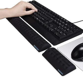 DSKKWS Memory Foam Keyboard Wrist Rest