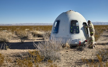 Blue Origin capsul
