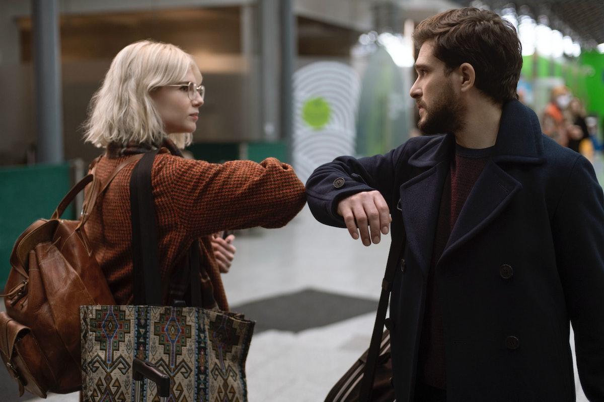Kit Harington and Lucy Boynton in 'Modern Love' Season 2