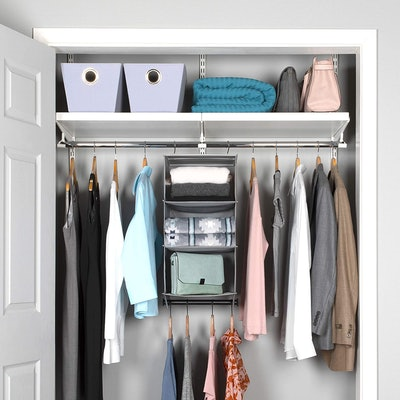 HOLDN' STORAGE Hanging Closet Organizer