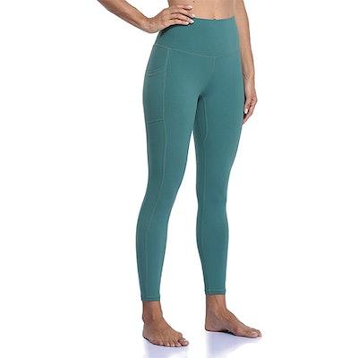 Colorfulkoala High-Waisted 7/8 Leggings With Pockets