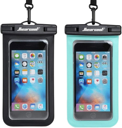 Hiearcool Waterproof Phone Pouch (2-Pack)