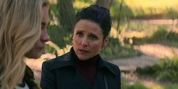 Julia Louis-Dreyfus in the Black Widow post-credits scene