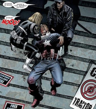 The Death of Captain America Vol. 1 (2004).