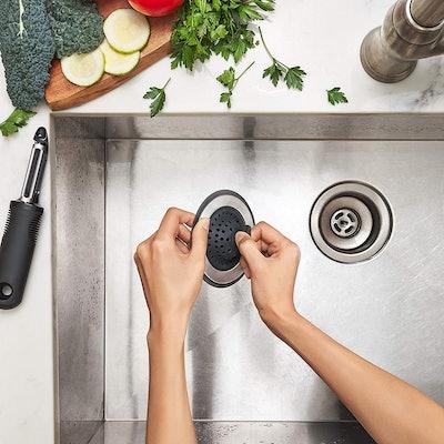 OXO Good Grips Sink Strainer & Stopper