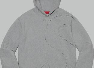 supreme laser cut s hoodie
