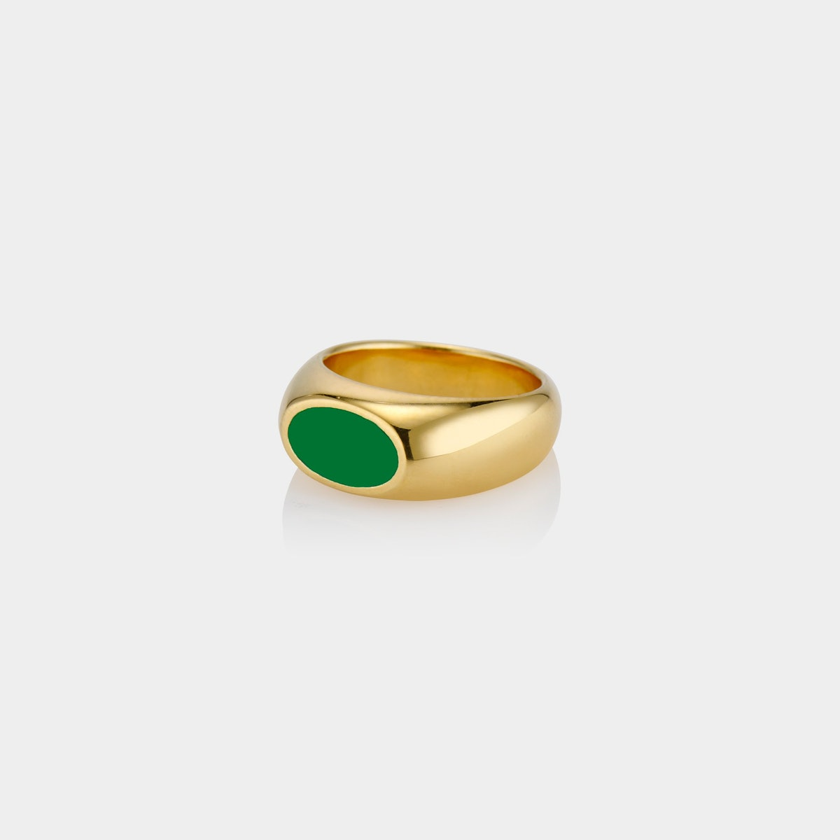 Ophelia gold vermeil ring from Aureum Collective, which has been worn by Gigi and Bella Hadid, Dua L...