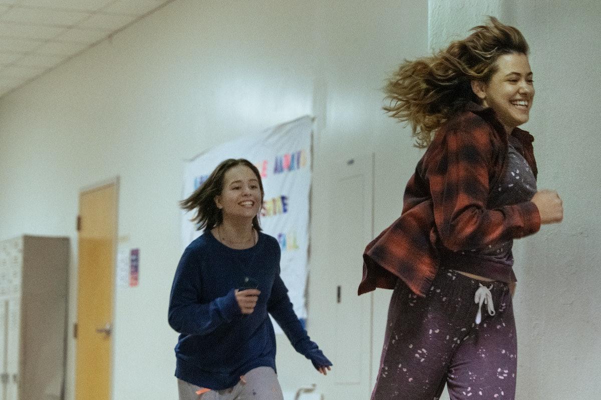 Lulu Wilson and Grace Edwards in 'Modern Love' Season 2