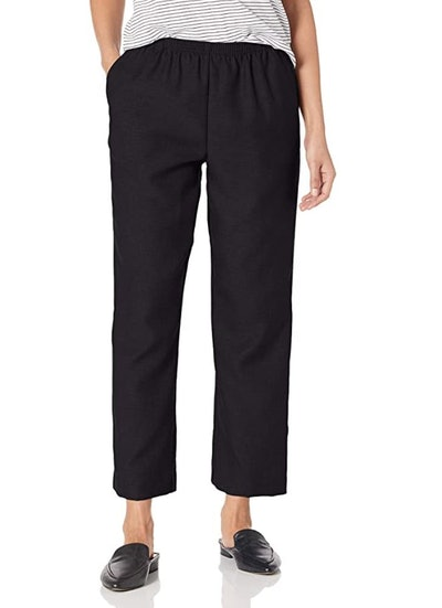 Alfred Dunner All Around Elastic Waist Petite Pants