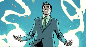 Mister Gryphon using his powers in All-New, All-Different Avengers Vol 1 #5