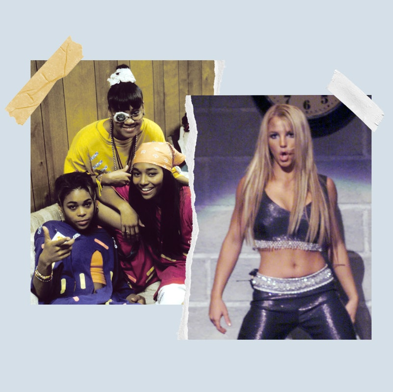 TLC and Britney Spears in the '90s.