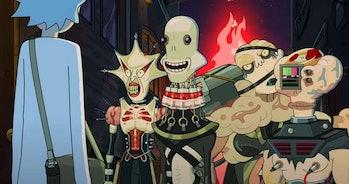 rick and morty season 5 demons