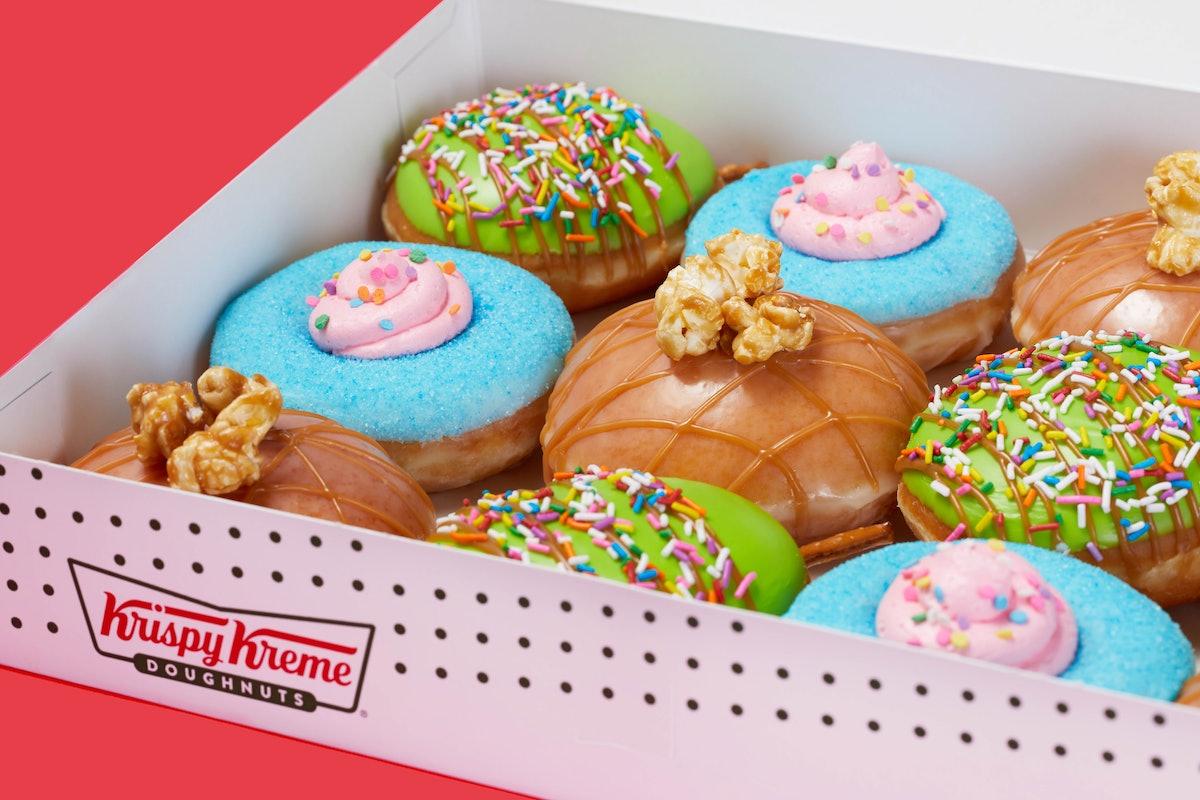Krispy Kreme's Carnival Doughnut collection for summer 2021 is a treat.