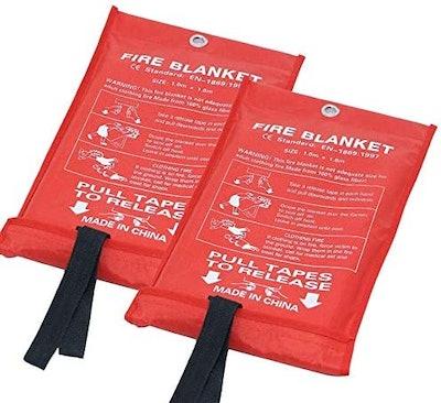 STARTONECO Fire Emergency Blanket (2-Pack)