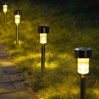 GIGALUMI Solar Pathway Lights (12 Pack)