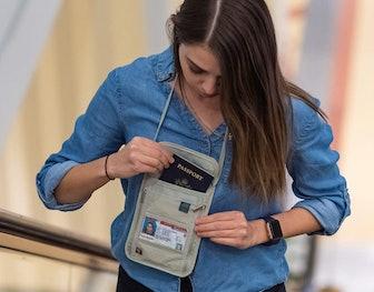 Lewis N. Clark RFID-Blocking Stash Wallet