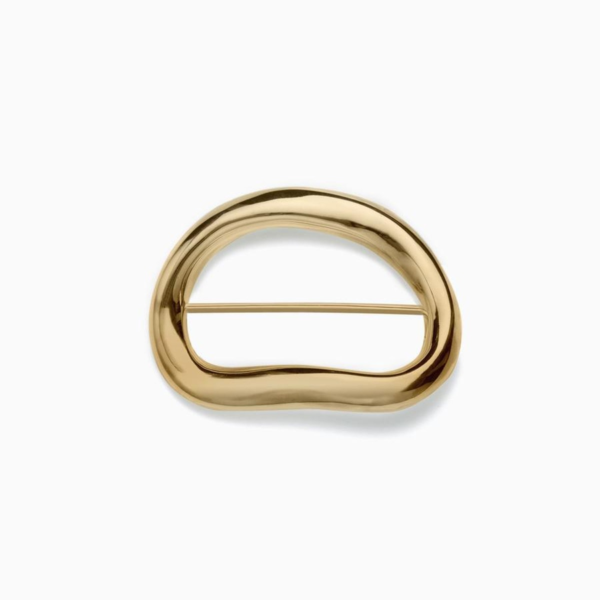 Gold vermeil Gabriela Brooch  from AGMES jewelry.