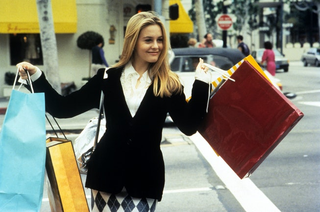 Alicia Silverstone as Cher Horowitz in 1995's 'Clueless'.