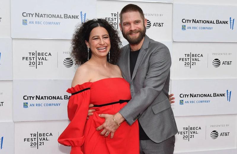 Ilana Glazer and husband David Rooklin in June 2021.