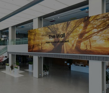 Samsung The Wall 1000-inch video screen concept art image