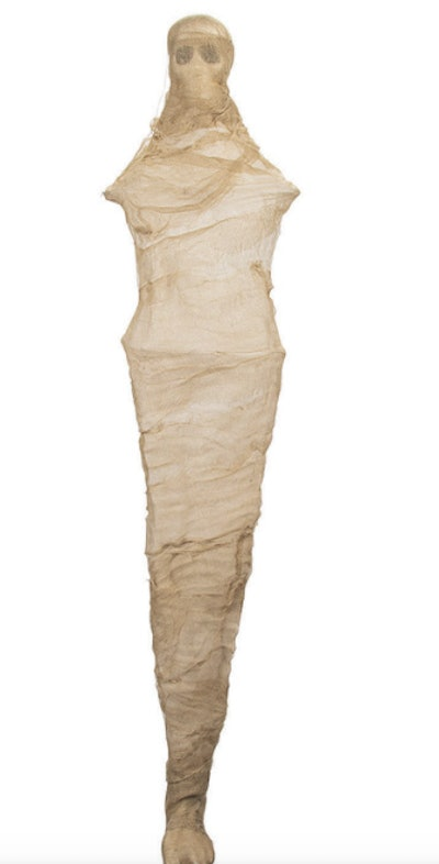 Glowing mummy decoration