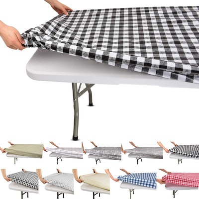The Moty Store Fitted Rectangular Table Cloth