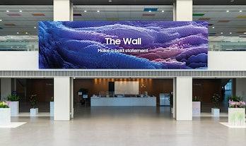 Samsung The Wall concept art promo image